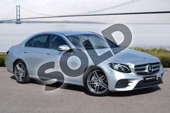 Mercedes-Benz E Class E220d AMG Line 4dr 9G-Tronic in Iridium Silver Metallic at Mercedes-Benz of Grimsby