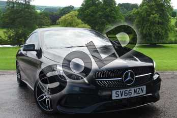 Mercedes-Benz CLA CLA 220d AMG Line 4dr Tip Auto in cosmos black metallic at Mercedes-Benz of Grimsby