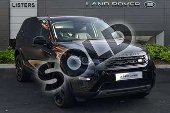Land Rover Discovery Sport 2.0 TD4 (180hp) HSE Black in Narvik Black at Listers Land Rover Droitwich