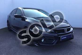 Honda Civic 1.5 VTEC Turbo Sport 5dr in Crystal Black at Listers Honda Solihull