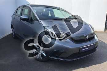 Honda Jazz 1.5 i-MMD Hybrid SR 5dr eCVT in Shining Grey at Listers Honda Solihull