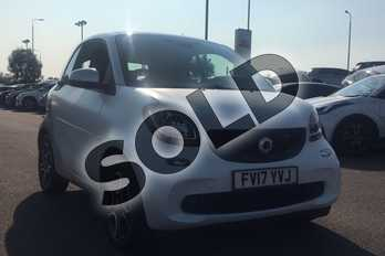smart Fortwo Coupe 1.0 Prime Premium 2dr Auto in Bodypanels in metallic Cool silver at Listers Toyota Lincoln
