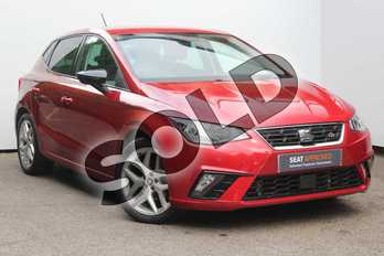SEAT Ibiza 1.0 TSI 115 FR 5dr in Desire Red at Listers SEAT Worcester