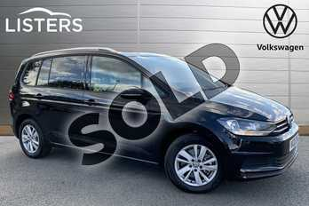 Volkswagen Touran 2.0 TDI SE Family 5dr DSG (7 Speed) in Deep Black at Listers Volkswagen Stratford-upon-Avon