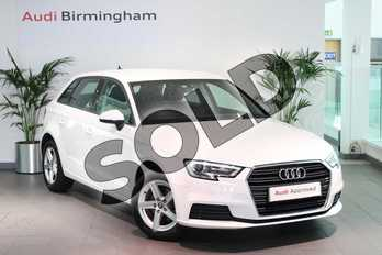 Audi A3 30 TFSI 116 SE Technik 5dr in Ibis White at Birmingham Audi