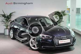 Audi A5 2.0 TDI Quattro S Line 5dr S Tronic in Moonlight Blue Metallic at Birmingham Audi
