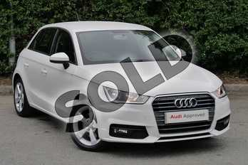 Audi A1 1.4 TFSI Sport 5dr in Shell White at Worcester Audi
