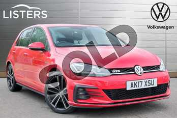 Volkswagen Golf 2.0 TDI 184 GTD 5dr in Tornado Red at Listers Volkswagen Leamington Spa