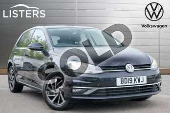 Volkswagen Golf 1.0 TSI 115 Match 5dr DSG in Deep black at Listers Volkswagen Leamington Spa