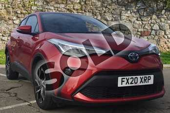 Toyota C-HR 1.8 Hybrid Design 5dr CVT in Scarlet Flare at Listers Toyota Boston