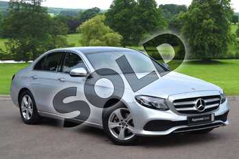 Mercedes-Benz E Class E220d SE Premium Plus 4dr 9G-Tronic in Iridium Silver Metallic at Mercedes-Benz of Grimsby