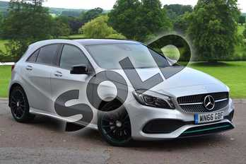 Mercedes-Benz A Class A220d Motorsport Edition Premium 5dr Auto in Polar Silver at Mercedes-Benz of Grimsby