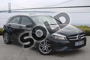Mercedes-Benz A Class A200 (2.1) CDI Sport 5dr Auto in Cosmos Black at Mercedes-Benz of Hull