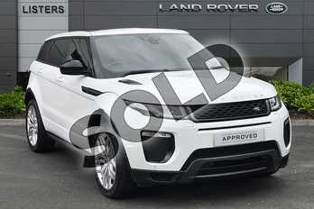 Range Rover Evoque 2.0 TD4 HSE Dynamic 5dr Auto in Fuji White at Listers Land Rover Droitwich