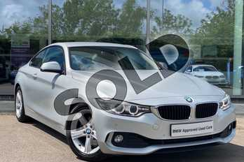 BMW 4 Series 428i SE 2dr in Glacier Silver at Listers King's Lynn (BMW)