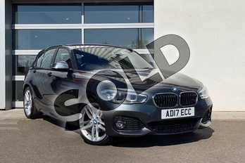 BMW 1 Series 120d xDrive M Sport 5-Door in Mineral Grey at Listers King's Lynn (BMW)