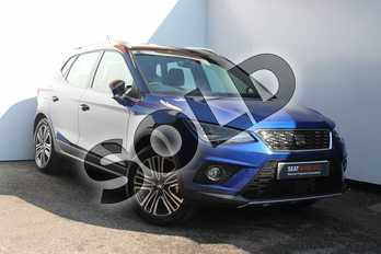 SEAT Arona 1.0 TSI 115 Xcellence (EZ) 5dr DSG in Blue at Listers SEAT Worcester