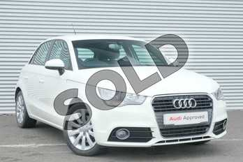 Audi A1 1.4 TFSI Sport 5dr in Amalfi White at Coventry Audi