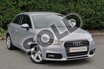 Audi A1 1.4 TFSI Sport 3dr in Floret Silver Metallic at Worcester Audi