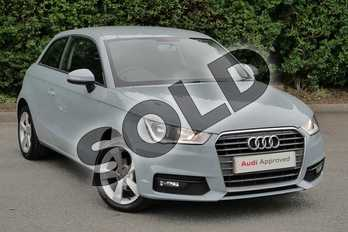 Audi A1 1.0 TFSI Sport 3dr in Arrow Grey Pearlescent at Worcester Audi