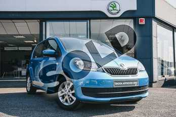 Skoda Citigo 1.0 MPI SE 5dr in Crystal Blue at Listers ŠKODA Coventry
