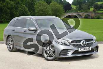 Mercedes-Benz C Class C 200 AMG Line Edition Estate in selenite grey metallic at Mercedes-Benz of Boston