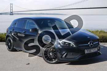 Mercedes-Benz A Class A200d AMG Line Premium 5dr Auto in Cosmos Black at Mercedes-Benz of Hull
