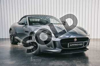 Jaguar F-TYPE 3.0 Supercharged V6 2dr Auto in Corris Grey at Listers Jaguar Solihull