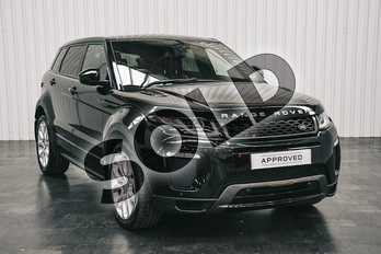 Range Rover Evoque 2.0 TD4 (180hp) HSE Dynamic in Santorini Black at Listers Land Rover Solihull