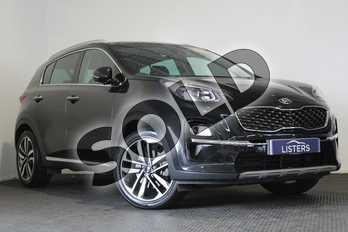 Kia Sportage 1.6T GDi ISG 4 5dr in Metallic - Phantom black at Listers U Stratford-upon-Avon
