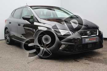 SEAT Ibiza 1.5 TSI Evo 150 FR 5dr in Black at Listers SEAT Worcester