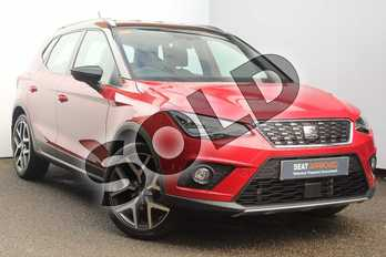 SEAT Arona 1.0 TSI 115 Xcellence Lux 5dr in Red at Listers SEAT Worcester