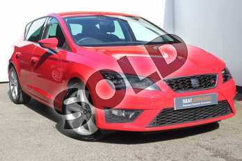 SEAT Leon 1.4 EcoTSI 150 FR 5dr (Technology Pack) in Red at Listers SEAT Worcester