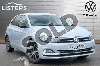Volkswagen Polo 1.0 TSI 95 Beats 5dr in White Silver at Listers Volkswagen Leamington Spa