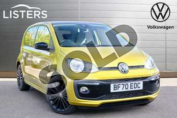 Volkswagen Up 1.0 R-Line 5dr in Honey Yellow at Listers Volkswagen Leamington Spa
