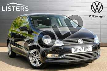 Volkswagen Polo 1.2 TSI Match Edition 5dr in Deep black at Listers Volkswagen Leamington Spa