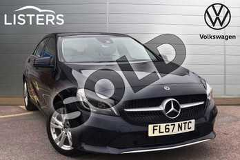 Mercedes-Benz A Class A180 Sport Premium 5dr in Blue at Listers Volkswagen Loughborough