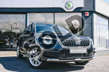 Skoda Kamiq 1.5 TSI SE L 5dr DSG in Black Magic at Listers ŠKODA Coventry