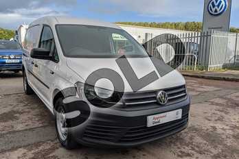 Volkswagen Caddy 2.0 TDI BlueMotion Tech 102PS Startline Van in Candy White at Listers Volkswagen Van Centre Worcestershire