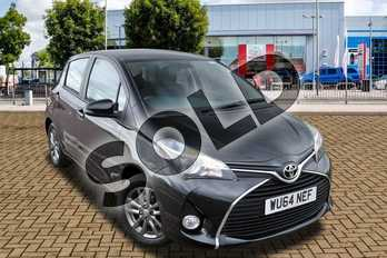 Toyota Yaris 1.33 VVT-i Icon 5dr in Eclipse Black at Listers Toyota Cheltenham