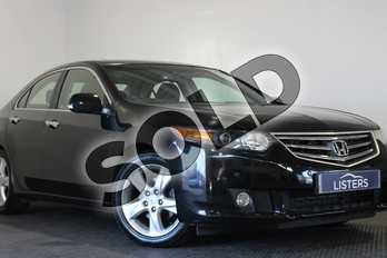 Honda Accord 2.0 i-VTEC EX 4dr Auto in Pearl - Crystal black at Listers U Stratford-upon-Avon