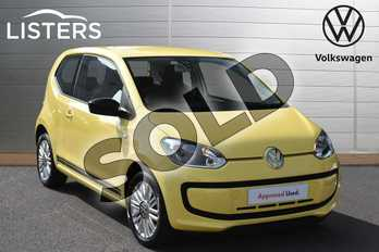 Volkswagen Up 1.0 Look Up 3dr in Saturn Yellow at Listers Volkswagen Evesham