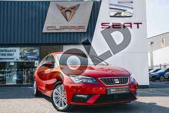 SEAT Leon 1.4 TSI 125 Xcellence Technology 5dr in Red at Listers SEAT Coventry