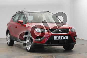SEAT Arona 1.0 TSI 115 SE Technology 5dr DSG in Desire Red at Listers SEAT Coventry