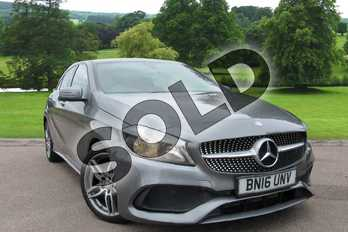 Mercedes-Benz A Class A200d AMG Line 5dr Auto in Mountain Grey at Mercedes-Benz of Grimsby