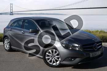 Mercedes-Benz A Class A180 CDI ECO SE 5dr in Mountain Grey at Mercedes-Benz of Hull