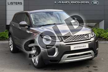 Range Rover Evoque 2.0 SD4 (240hp) Autobiography in Corris Grey at Listers Land Rover Droitwich