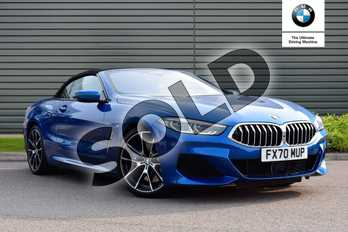 BMW 8 Series 840i sDrive 2dr Auto in Sonic Speed Blue at Listers Boston (BMW)