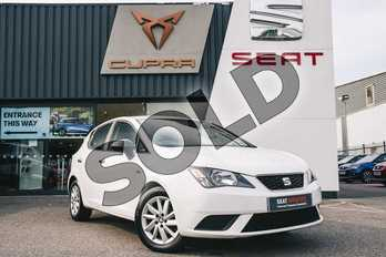 SEAT Ibiza 1.0 Sol 5dr in White at Listers SEAT Coventry