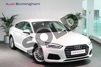 Audi A5 2.0 TDI Ultra SE 5dr in Ibis White at Birmingham Audi